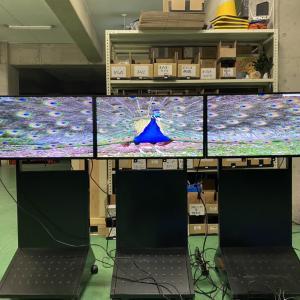 SHARP「PN-Y326」で横連結マルチをする方法