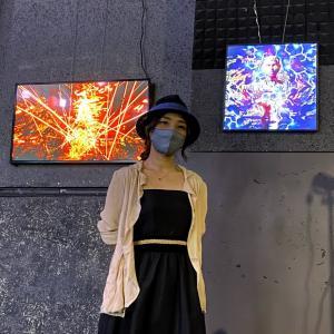 Crypto Art Week Asia in Tokyo バーチャル会場にレンタルサイネージのご提供❣