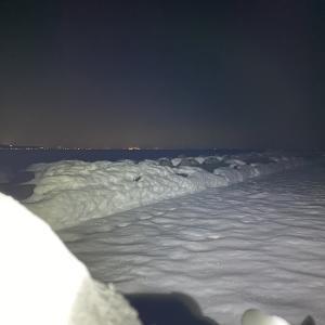 豪雪地帯でメバルを釣る