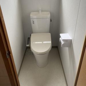 母屋 トイレ工事完了