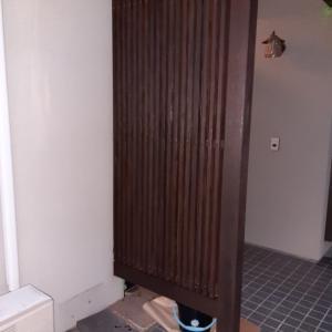 DIY 玄関塗装 初めてのペンキ塗りでも高級感UP