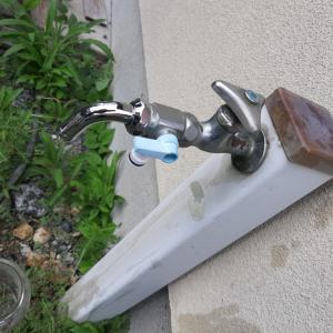 DIY 屋外の蛇口交換