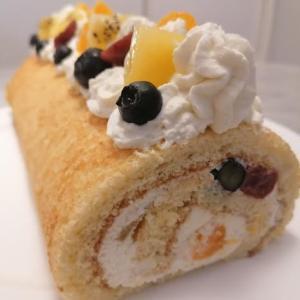 年末年始に、日本風「ロールケーキ」の作り方