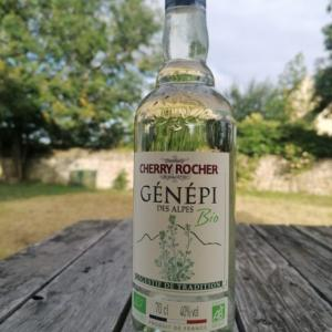 フランス・アルプス山脈のヨモギ酒「ジェネピ」