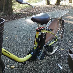 うーむ電動自転車がプレゼント?🚲