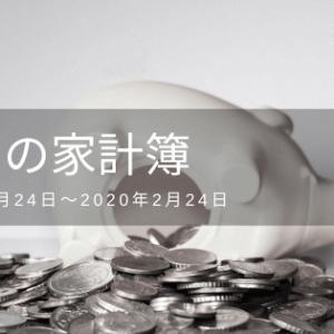 【2月度】今月の家計簿