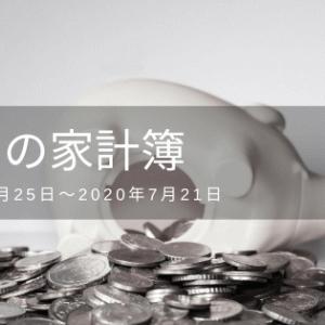 【7月度】今月の家計簿
