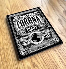 コロナ騒動をタイポグラフィとイラストで綴った「コロナ日記」が圧巻!