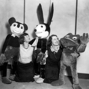 あんまり可愛くなかった? 1928年当時のミッキーマウス