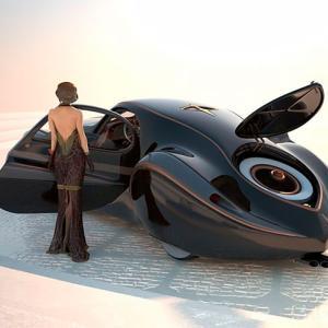 SF映画に登場しそうな1939年の幻の自動車