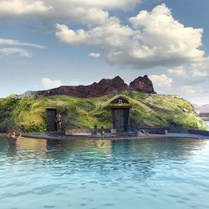 21年オープン予定のアイスランドの地熱を利用した施設がすごい