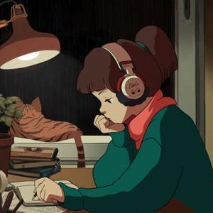 ローファイ・ヒップホップの「スタディガール」に倣って様々な国で勉強する女の子たち
