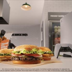 バーガーキングのハンバーガーを買うだけでPS5をゲットできてしまう1000人のラッキーな人たち