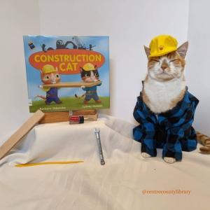 米国ペンシルベニアの図書館にいる猫の司書、毎週ドレスアップして本を紹介!