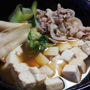 ニート料理 すき焼き