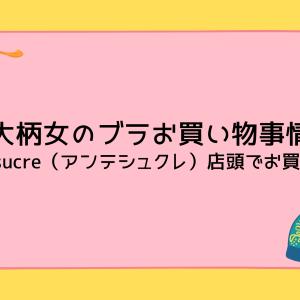 大柄女のブラお買い物事情【アンテシュクレ店頭でお買い物】
