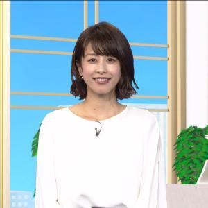 加藤綾子アナ 大人気!いつもきれい!【画像】