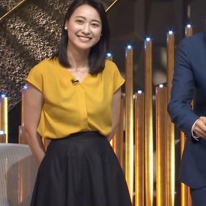 小川彩佳アナ ツンからのこの笑顔がキュン!をキャプ!【画像】