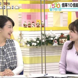 大家彩香アナ 北海道の巨乳女子アナをキャプ!【画像】