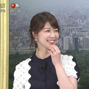 虎谷温子アナ すらりと高身長、お尻突き出しポーズをキャプ!【画像】