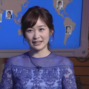 岩田絵里奈アナ 肩がシースルーで透ける衣装、セクシー!【画像】