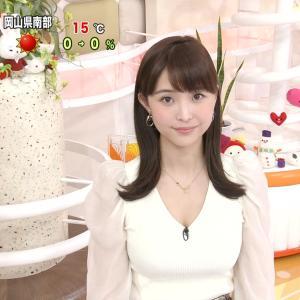 渡邊渚アナ  あどけない顔なのにおっぱいが大きいフジの時期エース最有力女子アナ【キャプ画像】