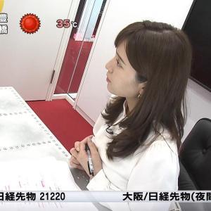 角谷暁子アナ おっぱい押し付けインタビュー【キャプ画像】