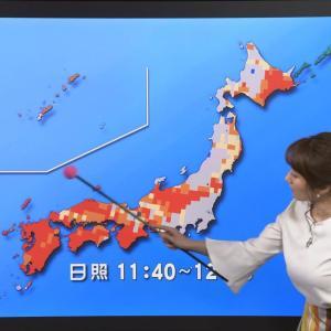 吉井明子キャスター 今にも暴発しそうなロケットおっぱいを持つ巨乳お天気キャスター【キャプ画像】