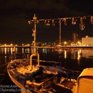 釧路港夜景 2015年