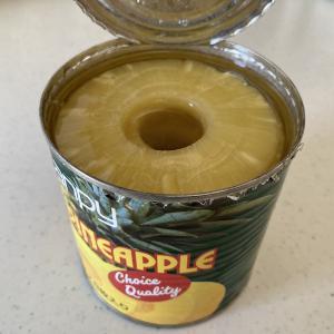 パイナップルの缶詰は体に悪いと聞くけれど