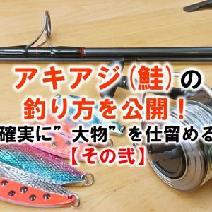 """アキアジ(鮭)の釣り方を公開!確実に""""大物""""を仕留める【その弐】"""