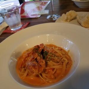 夕ご飯を食べてきました