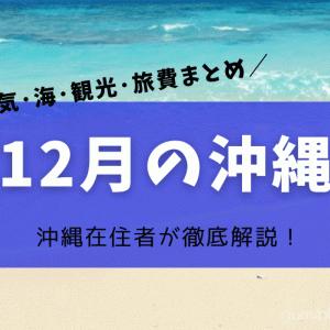 【沖縄の12月】在住者が解説!気温や雨などの過去天気と服装、冬の海の楽しみ方や旅行料金など