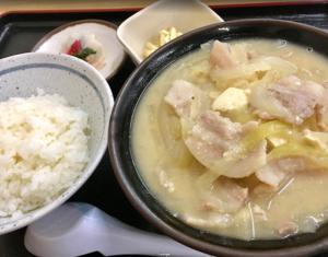 新潟県妙高市【とん汁の店 たちばな】[豚汁専門店]