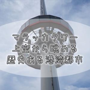 173【マレーシア紀行】マラッカの街の新旧エリアを一望『マラッカタワー』