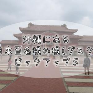 439【ピックアップ】日本百名城・続日本百名城 こだわりのお城ピックアップ5選⑩(沖縄の城5選)