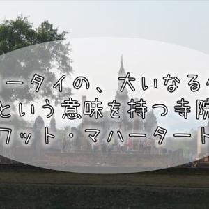497【タイ紀行】アユタヤにも同盟の寺院が。大いなる寺院『ワット・マハータット』