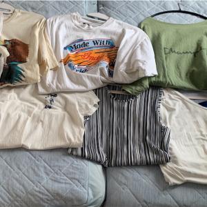 夏服を整理しました
