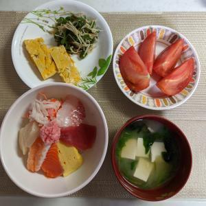 大人二人、野菜たっぷり&献立に悩まず1週間3000円台で乗り切るコツ。ver.2 海鮮丼に合う献立