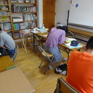 久々の自習室開催