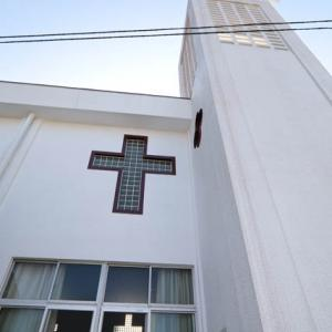 浜串教会~(・∀・)つ