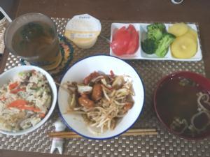 6月8日の夕ご飯