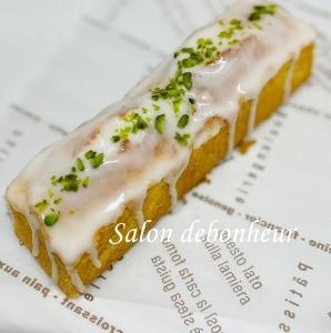 新しい型を使って♡レモンパウンドケーキ♡