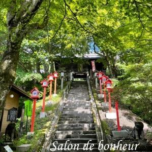 見晴台から県境の神社へ