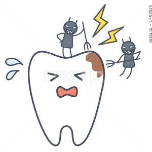 虫歯を放置しないで初期の症状で治療をすると痛みがなく済みます。