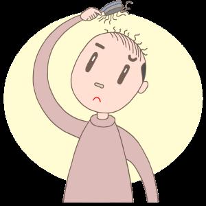 薄毛の原因は男性ホルモン、脂漏性脱毛症、頭皮緊張、血行不良について