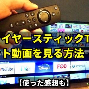 ファイヤースティックTVでネット動画を見る方法【使った感想も】