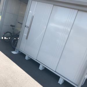 【外構】理想的な倉庫が設置された((´∀`))