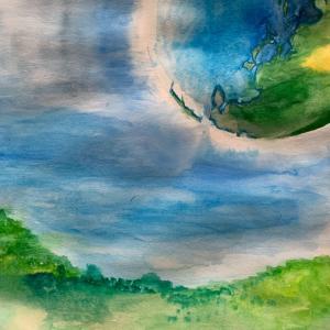 頭の中で考えている事を絵で描くと他人に見える。それが絵。
