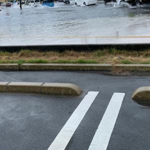 マジ、勘弁…。怖いって〜。去年の洪水思い出す。